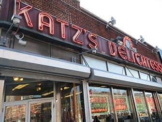 Нижний Ист-сайд в Нью-Йорке Katzs-Deli