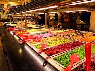 Обед в Нью-Йорке Salad-bars