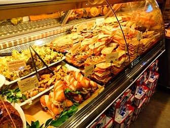 Обед в Нью-Йорке Sanduiches
