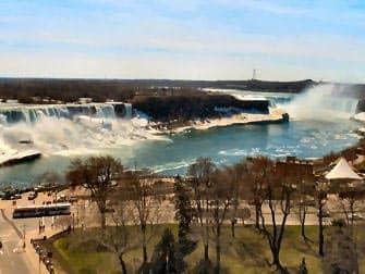 Однодневная экскурсия к Ниагарским водопадам Американские водопады