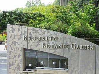 Район Бруклин Ботанический сад