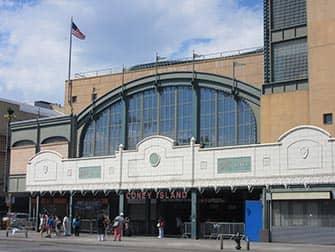 Станция Кони-Айленд в Нью-Йорке