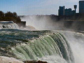 Экскурсия к Ниагарским водопадам на самолете