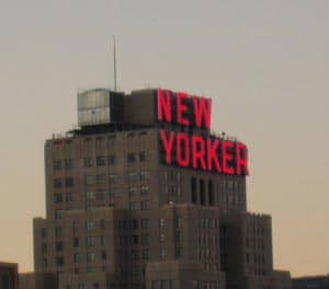 The New Yorker Hotel в Нью Йорке