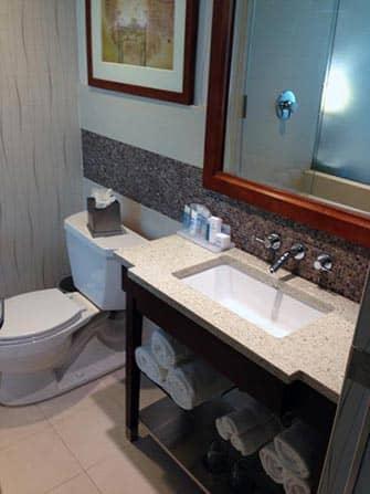 Wyndham Hotel в Нью-Йорке ванная комната