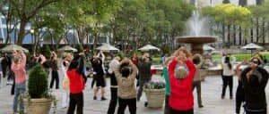 Бесплатные уроки Tai Chi в Нью Йорке