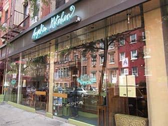 Вегетарианские рестораны в Нью-Йорке Angelica-Kitchen