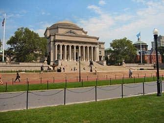 Верхний Вест-Сайд в Нью-Йорке Университет