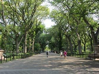 Верхний Ист-Сайд в Нью-Йорке парк