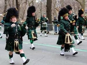 День Святого Патрика в Нью Йорке