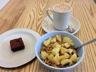Завтрак в Нью-Йорке полезный завтрак