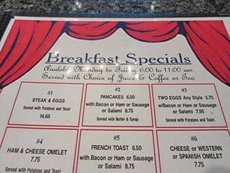 Завтрак в Нью-Йорке Theatre-Row-Diner