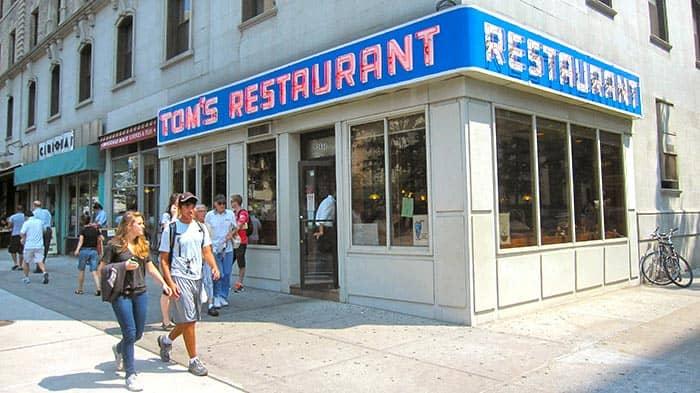 Завтрак в Нью-Йорке Toms-Restaurant