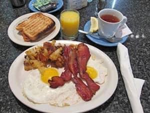 Завтрак в Нью Йорке