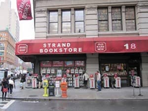 Книжный магазин Strand Book в Нью Йорке