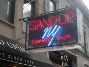 Комедийный клуб в Нью Йорке