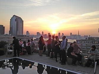 Лучшие бары на крышах в Нью-Йорке  Jimmy