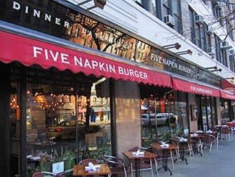 Лучшие бюргеры в Нью-Йорке Five Napkins