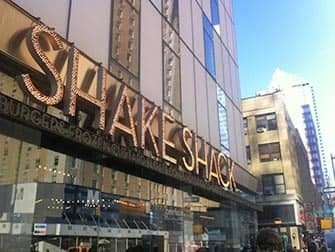 Лучшие бюргеры в Нью-Йорке Shake-Shack