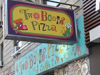 Лучшие пиццерии в Нью-Йорке Two-Boots