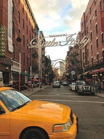 Маленькая Италия в Нью-Йорке улицы