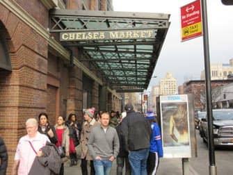 Митпакинг Дистрикт в Нью-Йорке Chelsea-Market