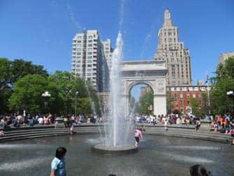 Парки в Нью-Йорке парк Вашингтон