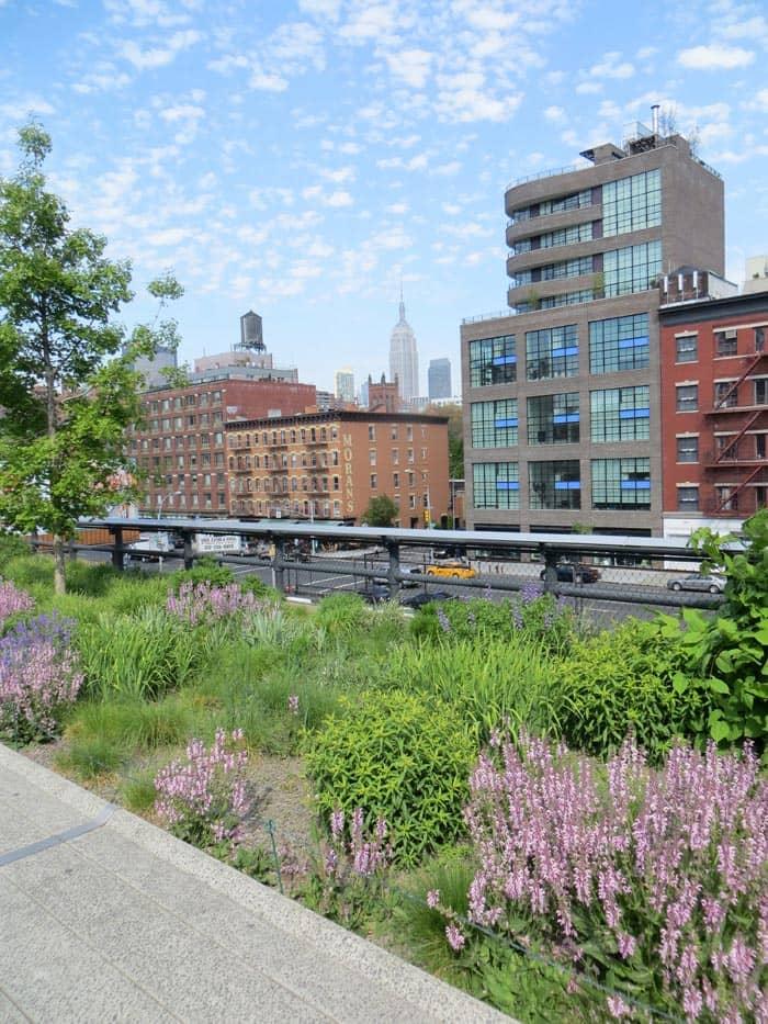 Парки в Нью-Йорке high-linе