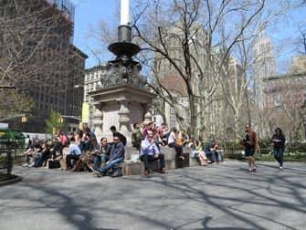 Парки в Нью-Йорке madison-square