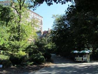 Парки в Нью-Йорке riverside парк