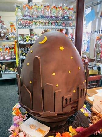 Пасха в Нью-Йорке Шоколад