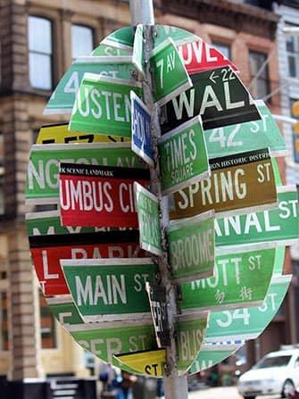 Пасха в Нью-Йорке на улицах