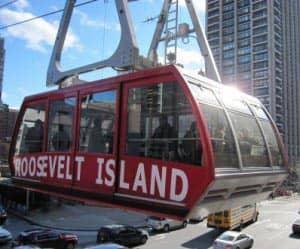 Подвесная дорога Roosevelt Tram в Нью Йорке