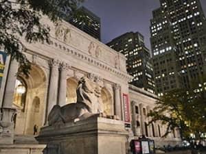 Публичная библиотека в Нью Йорке