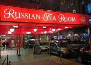 Ресторан Russian Tea Room