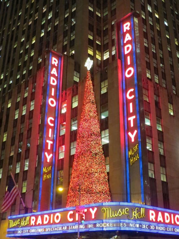 Рождество в Нью-Йорке Шоу