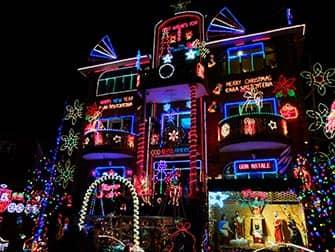 Рождество в Нью-Йорке NYC-Dyker