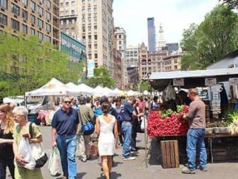 Рынок в Нью-Йорке