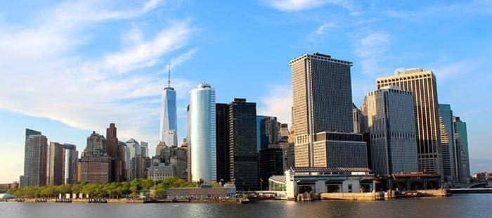Статен-Айленд в Нью-Йорке панорамный вид