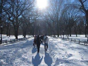 Туристический сезон в Нью Йорке