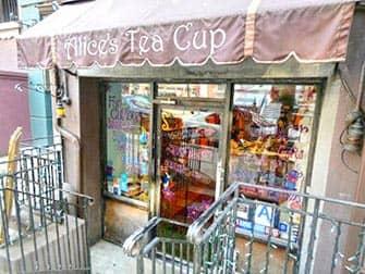 Чай с домашними пирожными в Alice Tea Cup-Upper-West-Side