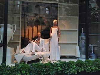 Шоппинг в Верхнем Ист-Сайд в Нью-Йорке в магазинах