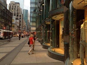 Шоппинг в Верхнем Ист-Сайд в Нью-Йорке магазины