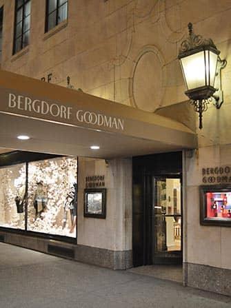 Шоппинг на Пятой Авеню Bergdorf-Goodman