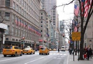 Шоппинг на Пятой Авеню