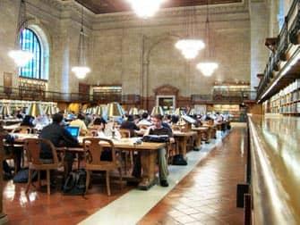 Библиотека в Нью-Йорке