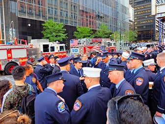 9/11 в Нью-Йорке - Пожарные