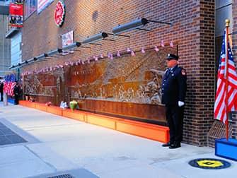 9/11 в Нью-Йорке - Memorial Wall
