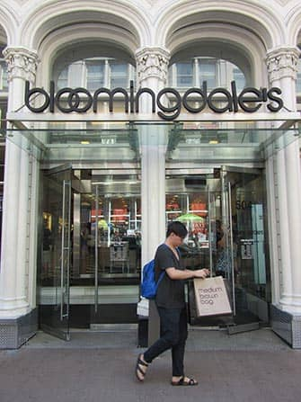 Bloomingdale's в Нью-Йорке здание