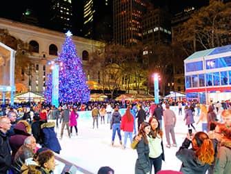 Рождественские каникулы в Нью-Йорке - Bryant Park
